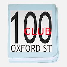 100 CLUB.png baby blanket