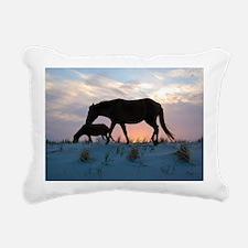 Onward Bound Rectangular Canvas Pillow