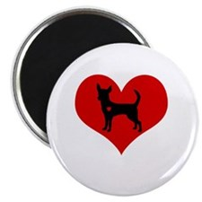 Chihuahua Heart Magnet