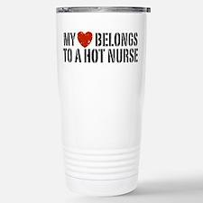 Cute I love my nurse Travel Mug