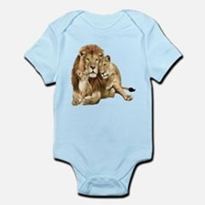 Lion And Cubs Body Suit