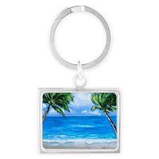 Palm Paradise Keychains