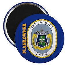 USS Jackson Plankowner Magnet