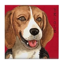 Beagle Tile Coaster