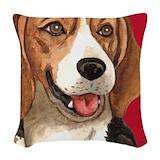 Beagle Woven Pillows
