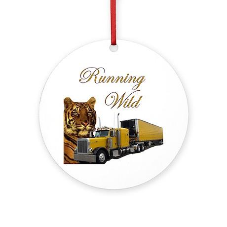 Running Wild Ornament (Round)