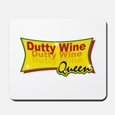 Dutty wine Mousepad
