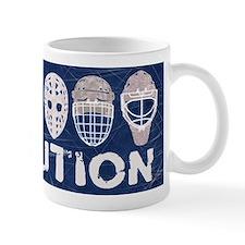 Hockey Goalie Mask Evolution Mugs