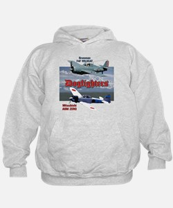 Dogfighters: F4F vs A6M Hoodie