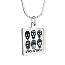 Hockey Goalie Mask Evolution Necklaces