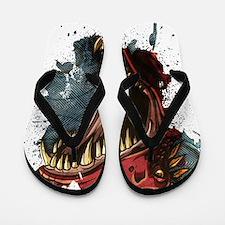 Dinosaur Roar Flip Flops
