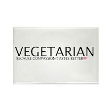 Funny Vegetarian Rectangle Magnet