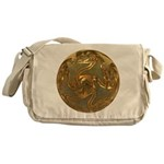 Faberge's Jewels - Yellow Messenger Bag