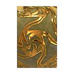 Faberge's Jewels - Yellow Mini Poster Print