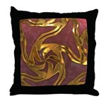 Faberge's Jewels -Red Throw Pillow