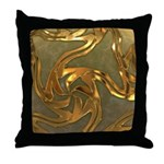 Faberge's Jewels - Yellow Throw Pillow