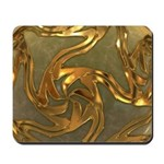 Faberge's Jewels - Yellow Mousepad