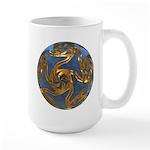 Faberge's Jewels - Blue Large Mug