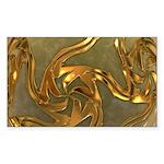 Faberge's Jewels - Yellow Sticker (Rectangle 10 pk