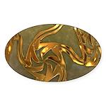 Faberge's Jewels - Yellow Sticker (Oval 10 pk)
