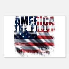America Proud Postcards (Package of 8)