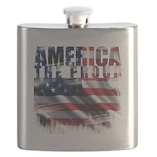 America Proud Flask
