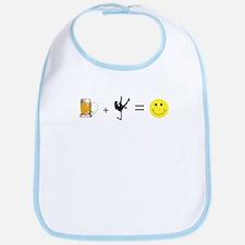 Beer + Stripper = Happy Bib