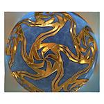 Faberge's Jewels - Blue King Duvet