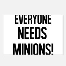Everyone Needs Minions Postcards (Package of 8)
