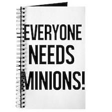 Everyone Needs Minions Journal