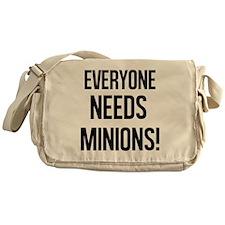 Everyone Needs Minions Messenger Bag
