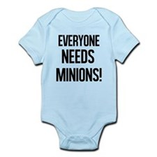 Everyone Needs Minions Body Suit
