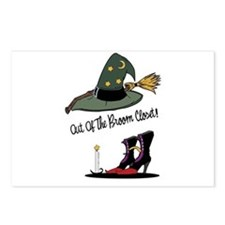 Out of the Broom Closet Postcards (Package of 8)