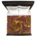 Faberge's Jewels -Red King Duvet