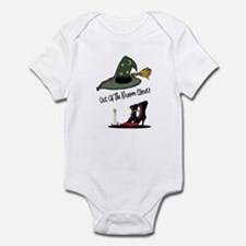 Out of the Broom Closet Onesie