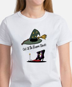 Out of the Broom Closet Women's T-Shirt