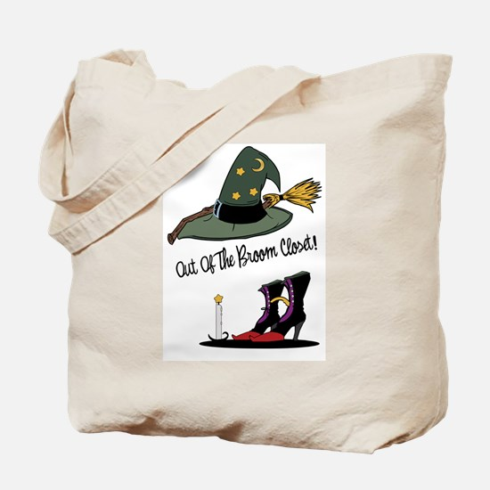 Out of the Broom Closet Tote Bag