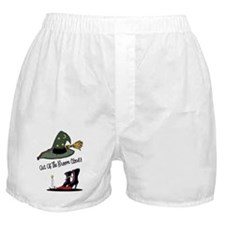 Out of the Broom Closet Boxer Shorts