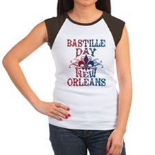 Bastille Day New Orlean Women's Cap Sleeve T-Shirt