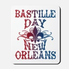 Bastille Day New Orleans Mousepad