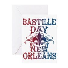 Bastille Day New Orleans Greeting Cards (Pk of 10)