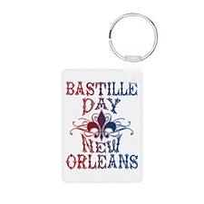 Bastille Day New Orleans Keychains