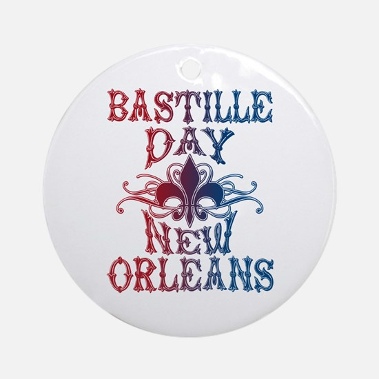 Bastille Day New Orleans Ornament (Round)
