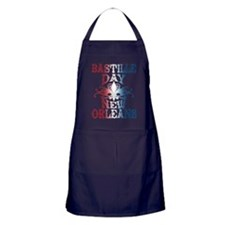 Bastille Day New Orleans Apron (dark)