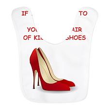 red high heels Bib