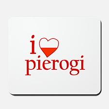I Love Pierogi Mousepad
