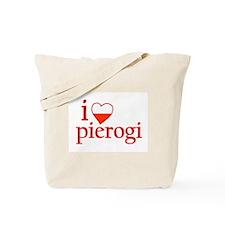 I Love Pierogi Tote Bag
