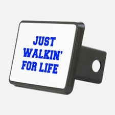 JUST-WALKIN-FOR-LIFE-FRESH-BLUE Hitch Cover