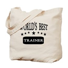 World's Best Trainer: Tote Bag