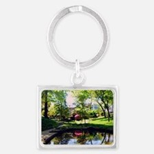 Cute Ansley Landscape Keychain